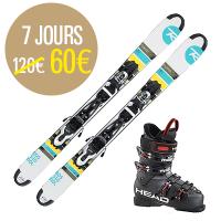 Mini skis